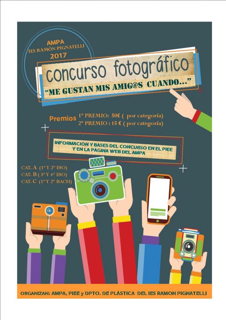 cartel concurso AMPA 2017